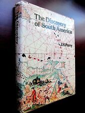 DISCOVERY of SOUTH AMERICA  J H Parry LIKE NEW HC/DJ 1979 BEST History REDUCED