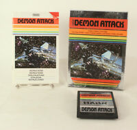 Vintage Boxed Atari 2600 game Demon Attack By Imagic.  Tested & Working