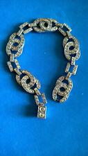 Art Deco Vintage Bracelet Tchécoslovaquie czecoslovaquia