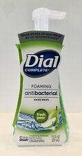 DIAL COMPLETE FRESH PEAR FOAMING HAND SOAP WASH 7.5 oz