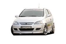 Rieger Spoilerlippe Ansatz für Opel Corsa C Facelift NEU / RIEGER-Tuning