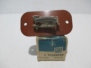 NOS  1961-1963 Buick LeSabre Wildcat Electra NOS Heater Resistor 1359930