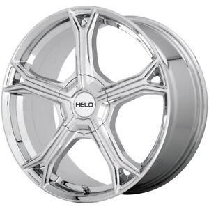 "Helo HE915 18x8 5x112/5x120 +40mm Chrome Wheel Rim 18"" Inch"