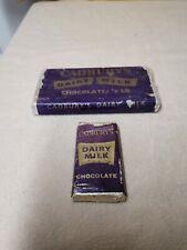 Vintage Cadbury Dairy Milk Dummy Blocks