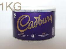 1 X Cadbury Drinking Hot Chocolate 1kg TIN (41-42 Servings/Pack) [FREE POSTAGE]