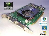 256-Bit Dell Precision R5400 T3500 T7500 T9500 Dual DVI Monitor Video Card