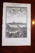 ✒ 1683 MANESSON MALLET Belle vue générale de LONDRES Angleterre ENGLAND