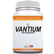 VANTIUM LIMITLESS PILL - CEREBRAL ENHANCEMENT COMPLEX 1 Month Supply 60 Pills