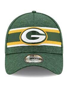 Green Bay Packers New Era 39THIRTY Cap Flex Fit Small/Medium  Same Day Shipped!!