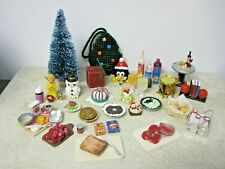 Dishes, Food, Mini'S, Dollhouse, Compatible W. Barbie Artist Made #30