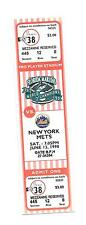 Florida Marlins Ticket Stub From June 13 1998 vs New York Mets 6/13/98