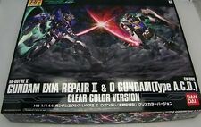 Limited Japan Bandai HG 1/144 EXIA REPAIRⅡO GUNDAM 00 Clear Color Model Kit