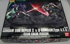 Limited Japan Bandai HG 1/144 EXIA REPAIRⅡO GUNDAM 00 Clear Color Model Kit