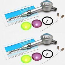 2PCS Dental Hygiene Prophy Jet Air Polisher Tooth Polishing Handpiece 2 Hole US