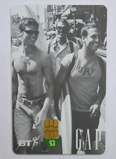 BT Phonecard - GAP Fashion 1990s, £5 Used Phone Card