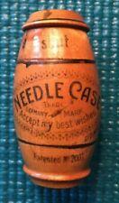 Vintage Needle Case Germany Trademark Wood Cez Art 1842 No 2001