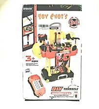 Conjunto De 1 Ferramenta De Reparo De Simulação Plástico Várias Play House Furadeira De Brinquedo Para Crianças Meninos