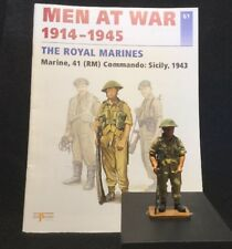 DEL PRADO #61 BRITISH MARINE 41(RM) COMMANDO SICILY 1943 (BOOKLET)