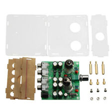 Acrylic Case 6J1 Valve Preamp Tube PreAmplifier Board Headphone Amplifier ASS