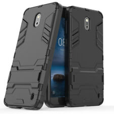 Custodia Protezione Rigida Antiurto Case CAVALLETTO INTEGRALE Armor TPU Cover NERO Xiaomi Redmi 4x