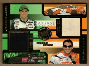 2003 PRESS PASS ECLIPSE UNDER COVER DOUBLE COVER BOBBY LABONTE/TONY STEWART/530