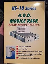 "SCSI Hard Drive Mobile Rack + Fan Removable Frame for 3.5"" & 2.5"" Drive USA SHIP"