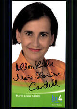 Marie Louise Cardell HR Autogrammkarte Original Signiert ## BC 24392