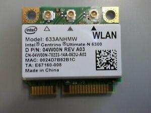 "Dell Precision M4600 15.6"" Laptop WiFi Wireless Card 04W00N 4W00N"