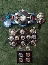 Ultraman R/B Lot With Gyro, Crystal cases, kiwami crystal, NEO ring, 17 crystals