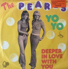 """7"""" 1973 GERMAN PRESS RARE ! THE PEARLS : Yo Yo /MINT-?"""