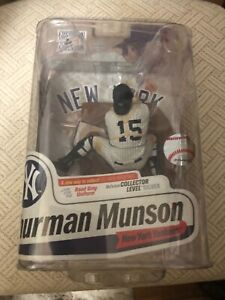 Thurman Munson NY Yankees McFarlane Cooperstown Collection Series 7 Factory New