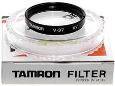 37mm. filtro UV Tamron * NUOVO * Ultraviolet filter 37 mm.