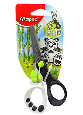 Maped Koopy Children's Kid's Right Handed Spring Assisted Scissors - Green