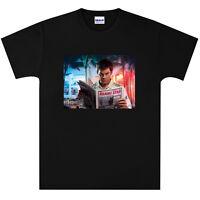 Dexter Morgan Michael C. Hall  T Shirt New Black or White