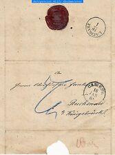 "1861 ek1 e ek2 ""camenz"" su austaxierten lettere dopo ""Reichenau"""
