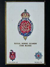 More details for regimental badges the royal horse guards (the blues) postcard gale & polden 1687