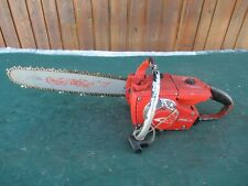 """Vintage HOMELITE XL-1 Chainsaw Chain Saw with 16"""" Bar RED"""
