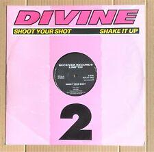 "Divine – Shoot Your Shot / Shake It Up (1986 Hi NRG)  12"" Vinyl 45rpm"