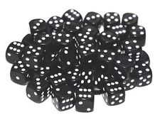 30 Black Dice, 12mm , D6 (6 sided)