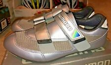 Shimano SH-R110 Men's Silver Road Cycling Shoes - Size 41