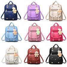 Fashion Women Girls Backpack PU Leather School Bag Satchel Travel Handbags Lot
