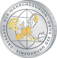 Polierte Platte Münzen der BRD in Euro-Währung aus Gold