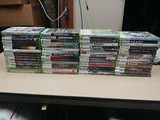 Xbox 360 Games lot Halo Gears Of War Assassins Creed Batman Gta Mass Effect