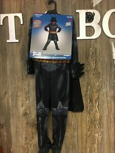 Toddler Batman Halloween Costume Justice League Muscle Costume Size 4T-5T