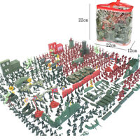 3300Pcs Army Men Action Figures -Soldier and Army Base Set Accessories