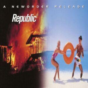 NEW ORDER : REPUBLIC : BRAND NEW & SEALED VINYL LP