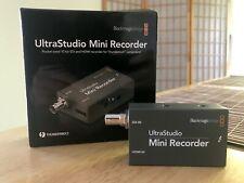 Blackmagic UltraStudio Mini Recorder w/ Thunderbolt – FAST SHIPPING!