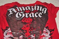 """SANCTIFY JUNIOR S SHIRT T-SHIRT """"AMAZING GRACE"""" GUC"""