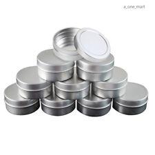 10Stk 10ml Blechdosen Aluminium Leer Döschen Creme Dosen Tiegel Für Kosmetikum