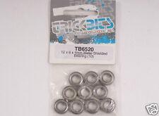 tb6520 Coche RC RODAMIENTOS 12 x 6 4mm Metal Protector (10pcs) Nueo RU